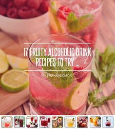 17 #Fruity Alcoholic Drink Recipes to Try ... - Food