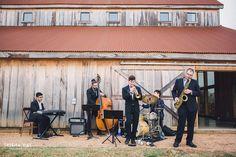 Rustic barn wedding band  (Photo by Trisha Kay Photography)