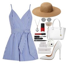 """""""Untitled #317"""" by ipinkiee ❤ liked on Polyvore featuring Finders Keepers, Chloe + Isabel, Yves Saint Laurent, Tommy Bahama, Fujifilm, Michael Kors and NARS Cosmetics"""