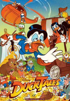Walt Disney, Poster, Geek Stuff, Comic Books, Comics, Scary Clowns, Scrooge Mcduck, Tattoo Legs, Cartoon