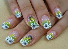 Easy Flower Nail Designs | Nail