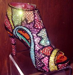 The most expensive shoes I've seen! very Glam ;)