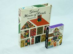Giant Charles Eames House of Cards : 20th Century Vintage Industrial : Modern Fifty
