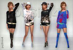 PQSims4: Moda Joven • Sims 4 Downloads