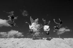 Criancas# Praia Cumbuco# Nordeste# Brasil# LulaSampaio# Salto