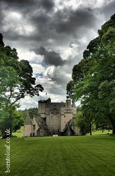 Castle Fraser, Aberdeen, Aberdeenshire