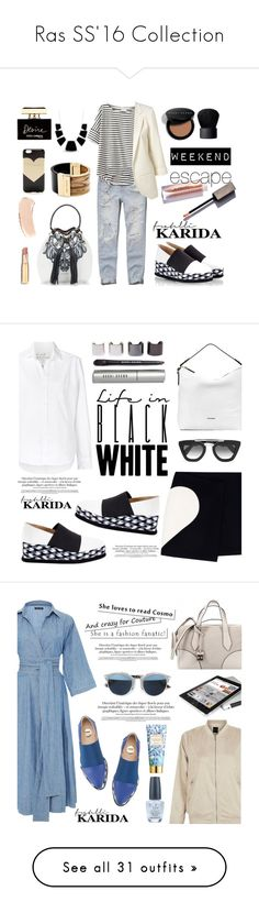 """Ras SS'16 Collection"" by fratellikarida-com ❤ liked on Polyvore featuring shoes, sandals, wedge sandals, black leather sandals, black wedge heel sandals, black platform wedge sandals, braided leather sandals, blue, woven leather sandals and braided sandals"