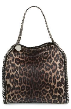 7967cabba001 Stella McCartney  Small Falabella - Leopard  Tote available at  Nordstrom  Jeans