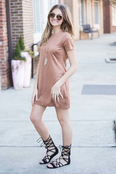 Mayday Dress #olivaceous #suede-dress #swoon-boutique