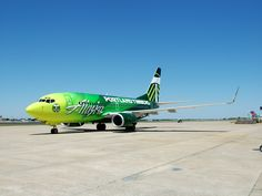 Portland Timbers Alaska Airlines airplane. #RCTID