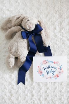Fuzzy bunny gift: http://www.stylemepretty.com/living/2015/10/29/little-bunny-baby-gift-box/