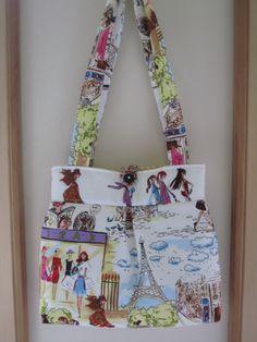 Pleated #Handbag Purse Ipad Netbook #Tote I by #Antiquebasketlady, $42.00