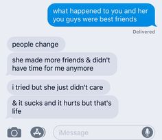 See more of favoritesfeed's content on VSCO. Losing You Quotes, Losing Friends Quotes, Quotes About Moving On From Friends, Losing Your Best Friend, Ex Best Friend, Deep Texts, Sad Texts, Lost Quotes, True Quotes