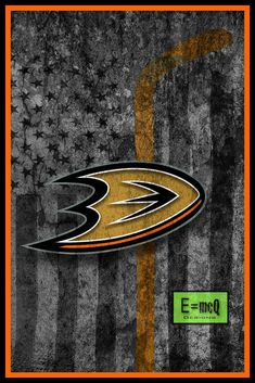 Anaheim Ducks Hockey Flag Poster, Anaheim Ducks Flag Poster, Ducks Fla                      – McQDesign