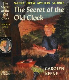 """Loved the Nancy Drew books and read this """"Secret of the Old Clock"""" ~ read as a pre-teen.  The Nancy Drew series was so fun."""
