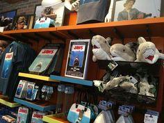 Moribund merchandise for JAWS at Universal Studios.