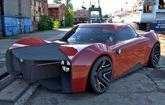 Alfa Romeo Feroce concept - Don't get it angry - Diseno-art