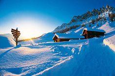 http://www.uebergossenealm.at/de-winterurlaub-salzburg.htm  Zum Skifahren nach Dienten, in die Übergossene Alm in Österreich: Hochkönigs Winterreich ist ein Paradies für Wintersportler. Aber auch abseits der Pisten lässt sich beim Winterwandern die verschneite Berglandschaft Österreichs entdecken.