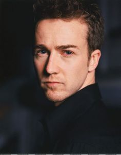 Photo by missnomer American History X, American Actors, Edward Norton, Fight Club, Male Face, Hollywood Stars, Favorite Person, Man Crush, Celebrity Crush