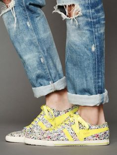 Gola Ditsy Sneaker http://www.freepeople.com/whats-new/ditsy-gola-sneaker/