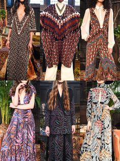 Mara Hoffman Fall 2016: 70s Glam Pattern – Ethnic Edge – Persian Rug References – Exotic Botanical Prints – Fantastical Florals