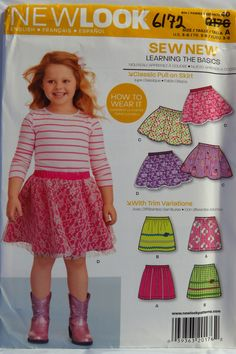 ec53c151041 38 Best New Look Girls  Toddlers  Babies  Sewing Pattern Collection ...