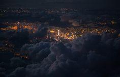 Hong Kong from above - null