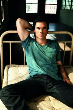 Ian Somerhalder as Christian Grey? I think so