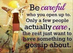 Be Careful
