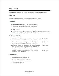 Free Easy Resume Builder Easy And Free Resume Templates  Free Resume Templates  Pinterest .