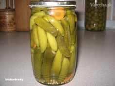 Nálev na Znojemské okurky Slovak Recipes, Homemade Pickles, Pickling Cucumbers, Tomato Vegetable, Home Canning, Canning Recipes, Food Hacks, Spices, Food And Drink