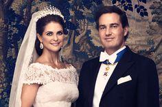 Prinsessan Madeleine och Chris O'Neill. Copyright Kungahuset.se