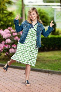 Maribell - Jersey green - locker und leger !