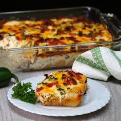 Whip Up a Quick and Easy Dinner Tonight With This Jalapeno Popper Casserole - Shared Or leave out tater tots and make as dip?
