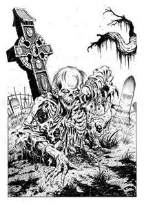 Scary Horror Coloring Pages - Bing images