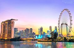 Visit Singapore, the lion city, world's sixth fastest-growing destination for international visitors, according to the 2016 Mastercard Global. #travel #trips365