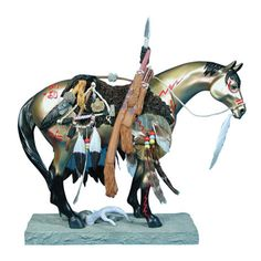 The Trail of Painted Ponies Medicine Horse that I NEED.