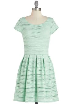 "The dress Taylor wore to Gena's bridal shower is now on #ModCloth It's called ""Step into the Pastel Dress"""