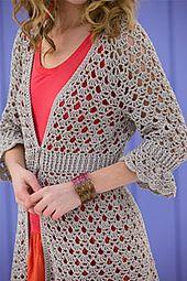Chloe Cardigan pattern by Doris Chan