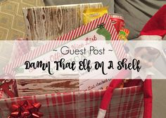 Stevie's back with another guest post. This time she's sharing her 'love' for elf on a shelf. A Shelf, Elf On The Shelf, Shelves, Lamb, Bear, Shelving, Shelving Units, Bears, Planks