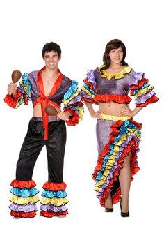 Disfraces de caribeños para los más alegres y divertidos de la fiesta.