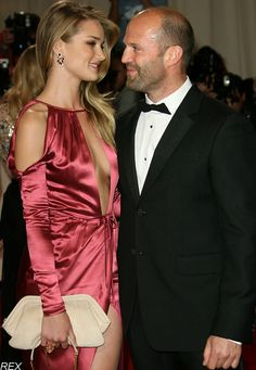 Rosie Huntington Whiteley & Jason Statham - such a hot and loving couple