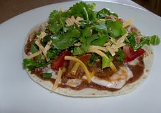 365 Days of Slow Cooking: Slow Cooker (Really easy and fast) Tostadas with Shredded Beef