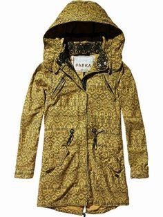 See more Long  Comfy Super Parka Khaki Jacket