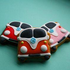 VW Camper cookies