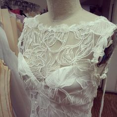 Sky Between The Branches by Claire Pettibone Courture Bridal - Photo by Guy Toley