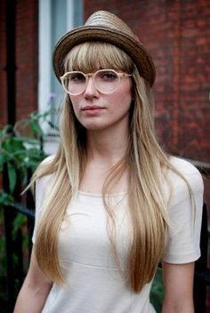 f72b78bbec0 249 Exciting Bangs and glasses images in 2019