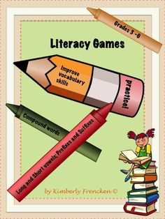 Your students will have fun improving their vocabulary skills with this resource containing over 6 literacy center sets.