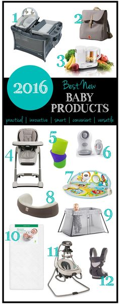 Best New Baby Products for 2016 | from RegistryFinder.com