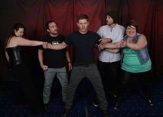 VanCon2014 Photo Op - Had to pin this, because LOOK AT HIS FREAKING ARMS!!!!  *dead now*